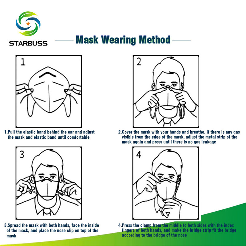 KN95 Personal Protection Face Mask 5PCS